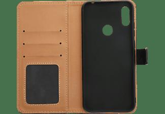 V-DESIGN BV 585, Bookcover, Huawei, Y6 (2019), Schwarz