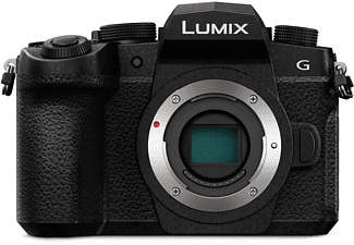 PANASONIC DC-G91EG-K Lumix G Body Systemkamera, 7,5 cm Display Touchscreen, WLAN