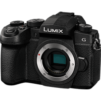 PANASONIC DC-G91EG-K Lumix G Body Systemkamera 20.30 Megapixel, 7,5 cm Display Touchscreen, WLAN