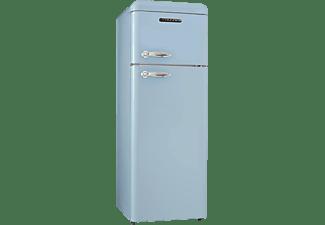 SCHNEIDER SDD 208 V 2 BL Kühlgefrierkombination (A++, 170 kWh/Jahr, 1497 mm hoch, Hellblau)