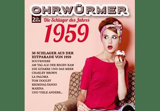 VARIOUS - OHRWÜRMER - DIE SCHLAGER 1959  - (CD)