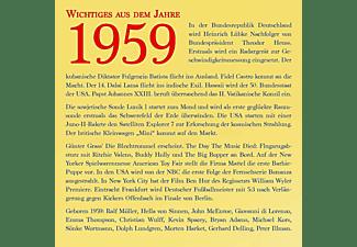 VARIOUS - OHRWÜRMER - DIE HITS 1959  - (CD)