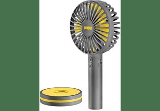 UNOLD 86616 Breezy Handventilator Grau/Gelb (5 Watt)