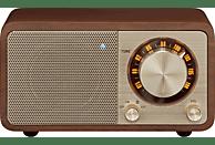 SANGEAN Radio Genuine Mini (WR-7) mit Bluetooth, cherry