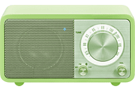 SANGEAN Radio Genuine Mini (WR-7) mit Bluetooth, green