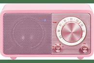 SANGEAN Radio Genuine Mini (WR-7) mit Bluetooth, pink
