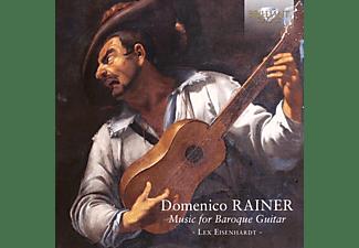 Lex Eisenhardt - RAINER - MUSIC FOR BAROQUE GUITAR  - (CD)
