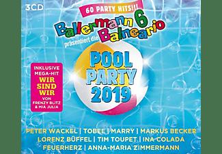 VARIOUS - Ballermann 6 Balneario Präs.Die Pool Party 2019  - (CD)