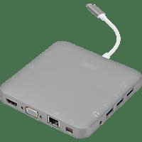 DIGITUS DA-70876 Notebook Docking Station USB Type-C™, USB Docking Station