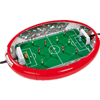 SIMBA TOYS Games & More Fußball Arena Fussballarena, Mehrfarbig
