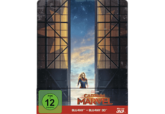 Captain Marvel (Limited Steelbook) - (3D Blu-ray (+2D))