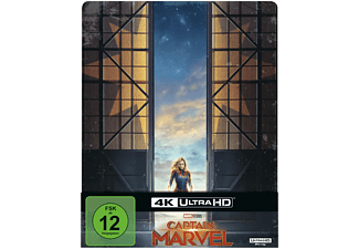 Captain Marvel Limited Steel-Book - (4K Ultra HD Blu-ray + Blu-ray)