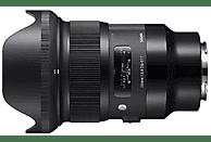 Objetivo - Sigma 24mm, 90.2 mm, f/1.4 DG HSM Art, Sony, Negro