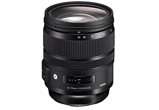 Objetivo - Sigma 24-70mm, 107.6 mm, f/2.8 DG OS HSM Art, Canon, Negro