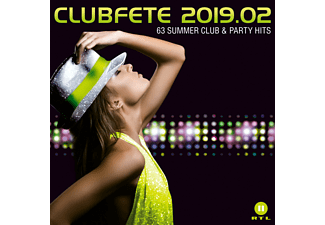 VARIOUS - Clubfete 2019.02:63 Summer Club & Party Hits  - (CD)