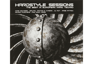 VARIOUS - HARDSTYLE SESSIONS  - (CD)