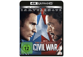The First Avenger: Civil War 4K Ultra HD Blu-ray + Blu-ray