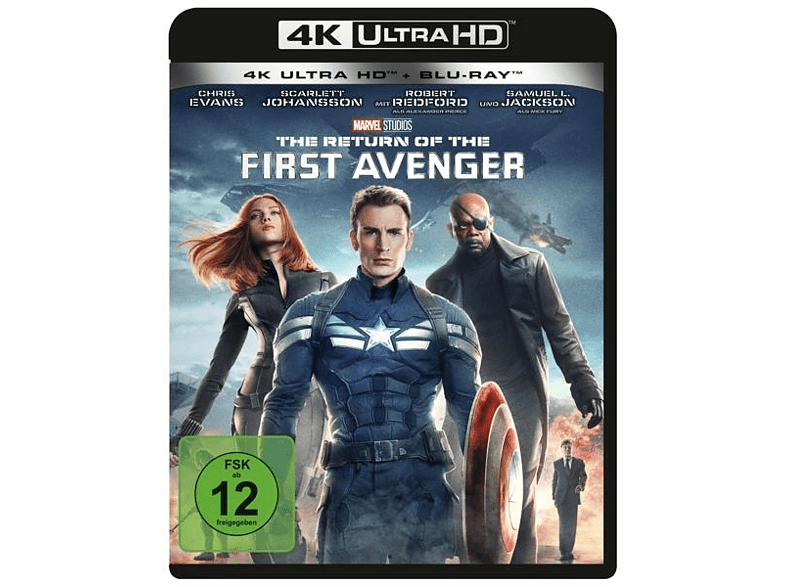 The Return of the First Avenger [4K Ultra HD Blu-ray + Blu-ray]