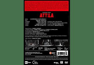 D'Arcangelo/Mariotti/+ - Verdi: Attila  - (DVD)