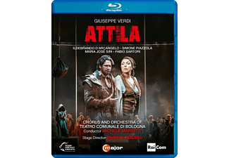 D'Arcangelo/Mariotti/+ - Verdi: Attila  - (Blu-ray)