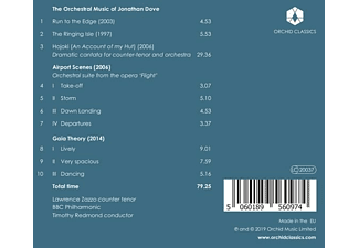 Timothy/bbc Philharmonic Redmond - The Orchestral Music of Jonathan Dove  - (CD)