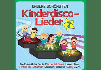 Familie Sonntag - Unsere Schönsten Kinderdisco-Lieder Vol.4  - (CD)