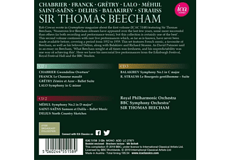 Sir Thomas Beecham, Royal Philharmonic Orchestra, BBC Symphony Orchestra - Sir Thomas Beecham dirigiert  - (CD)