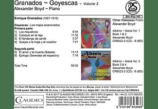 Alexander Boyd - Granados-Goyescas  - (Blu-ray Audio)