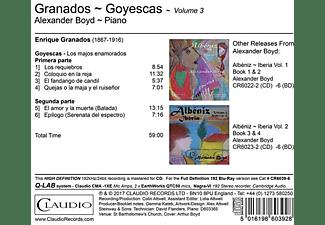 Alexander Boyd - Granados-Goyescas  - (CD)