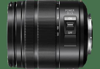 PANASONIC H-FSA14140E 14 mm - 140 mm f/3.5-5.6 ED (Ojektiv für Micro-Four-Thirds, Schwarz)
