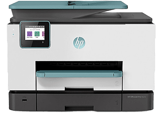 HP Multifunktionsdrucker OfficeJet Pro 9015 inkl. 2 Instant Ink Probemonate, türkis (3UK91B)