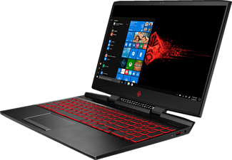 HP OMEN 15-dc1350ng, Gaming Notebook mit 15,6 Zoll Display, Core™ i7 Prozessor, 16 GB RAM, 1 TB HDD, 128 GB SSD, GeForce® RTX™ 2060, Schwarz
