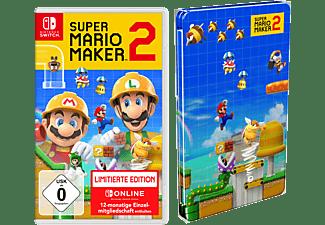 Super Mario Maker 2 (Limitierte Edition + Steelbook / Nur Online) - [Nintendo Switch]
