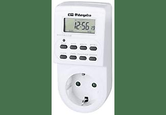 Enchufe programador eléctrico digital - Orbegozo PG 20, Pantalla LCD, Temporizador Programable