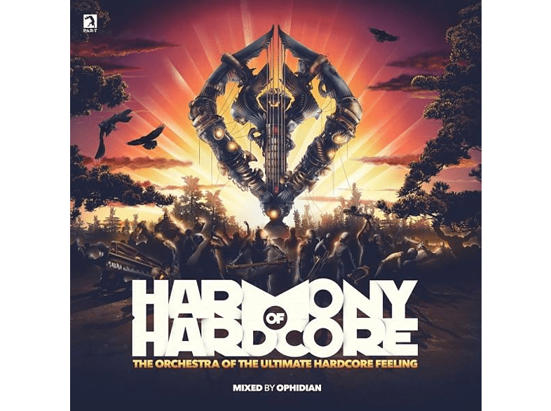 VARIOUS - Harmony Of Hardcore 2019 [CD]