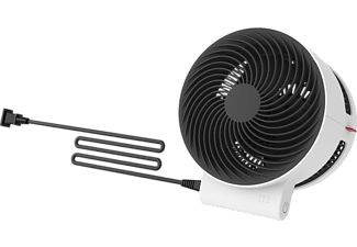 BONECO 45982 F100 Tischventilator Schwarz/Weiß (20 Watt)