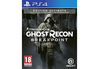 Tom Clancy's Ghost Recon Breakpoint Ultimate Edition PS4 NL/FR