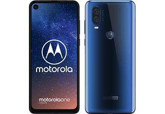 MOTOROLA One Vision 128 GB Sapphire Blue Dual SIM