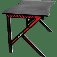 AKRACING Summit, Schreibtisch, Rot/Schwarz