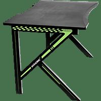 AKRACING Summit, Gamingschreibtisch, grün, schwarz