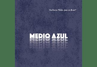"""Karlheinz Miklin """"Jazz via Brasil"""" - MEDIO AZUL  - (CD)"""