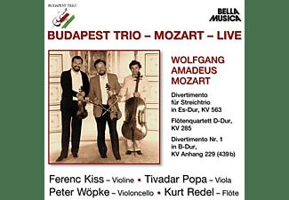 Budapest Trio - BUDAPEST TRIO MOZART LIVE  - (CD)