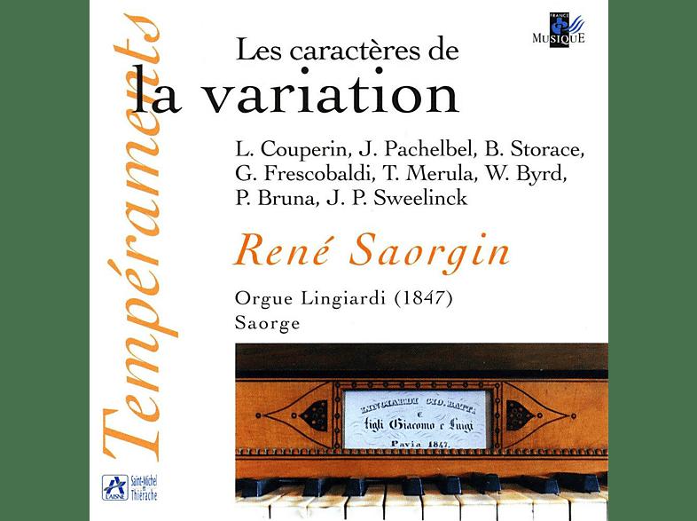Saorgin René - Les Caractères de la Variation [CD]