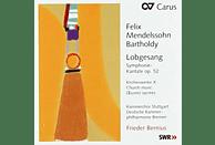 """Kammerchor Stuttgart, Deutsche KP Bremen - Sinfonie 2 """"Lobgesang""""-Kirchenwerke Vol.10 [CD]"""