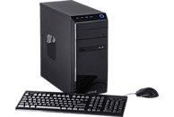 CAPTIVA R49-594, Gaming PC mit A8 Prozessor, 8 GB RAM, 240 GB SSD, 1 TB HDD, GeForce® GTX 1650, 4 GB