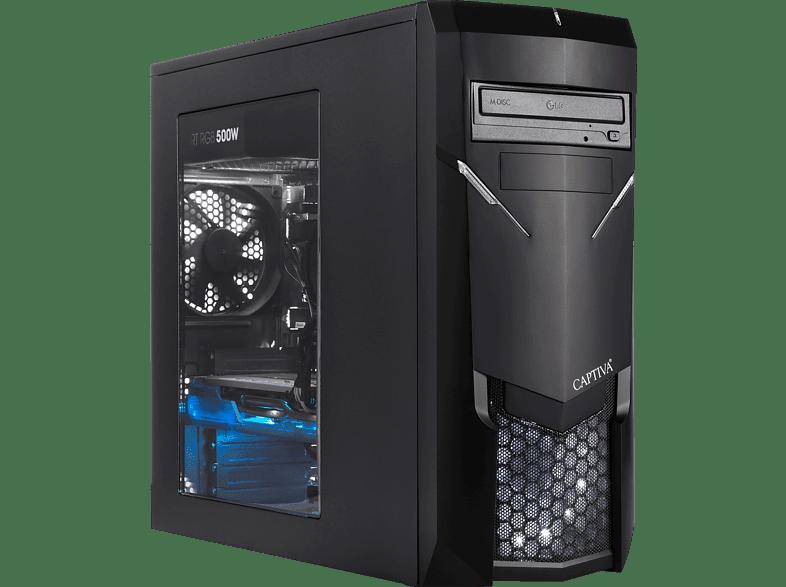 CAPTIVA R49-665, Gaming PC mit Ryzen™ 7 Prozessor, 16 GB RAM, 480 GB SSD, 1 TB HDD, GeForce® GTX 1660Ti, 6 GB