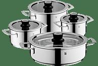 WMF 07.7804.6380 VarioCuisine Topf-Set (Cromargan®: Edelstahl Rostfrei 18/10, poliert, Silikon)