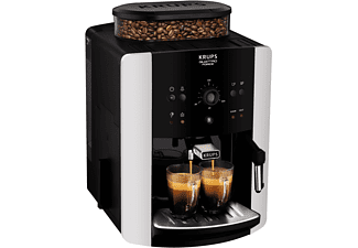 KRUPS EA8118 Arabica Quattro Force Kaffeevollautomat Schwarz/Silber