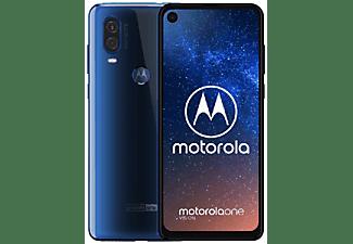 "Móvil - Motorola One Vision, Azul, 128 GB, 4 GB RAM, 6.34"" Full HD+, Exynos 9609, 3500 mAh, Android"