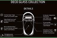 KRINNER Deco Glass Long Dekoglas